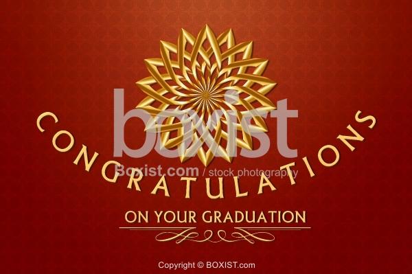 Congratulations on Your Graduation Greeting Card Design