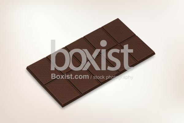 Piece of Chocolate Bar