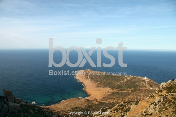 Coastal Scenery at Cap Bon in Tunisia