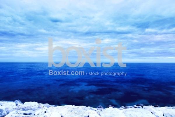 Blue Ocean Landscape