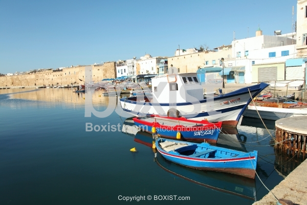 Fishing Boats at the Old Port of Bizerte