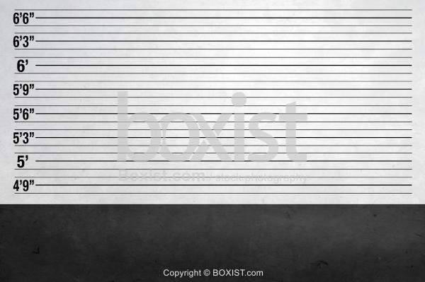Grunge Mugshot Police Background