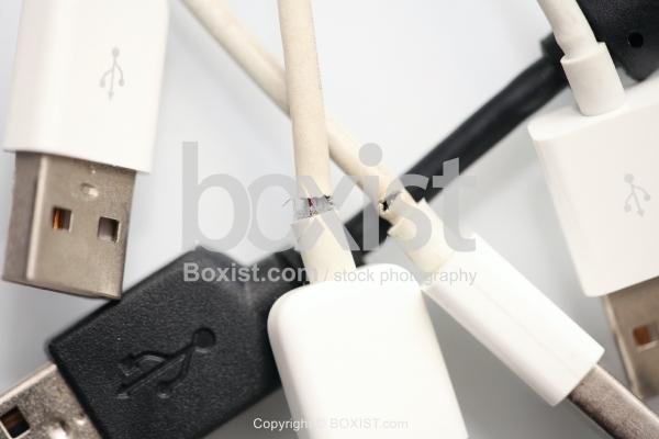 Broken USB Cables