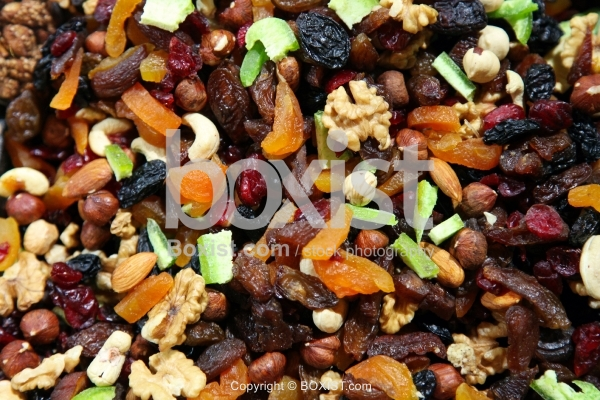 Dry Fruits Mixed With Nuts