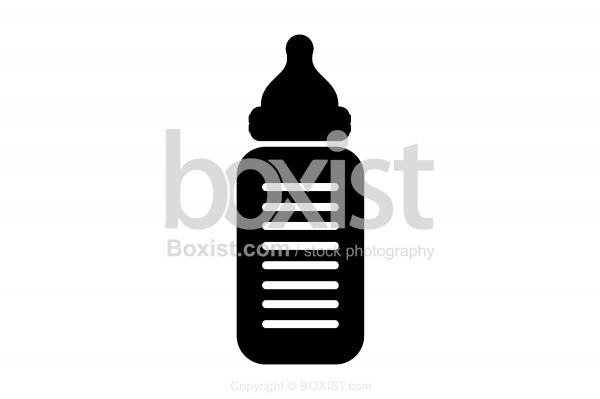 Baby Bottle Silhouette