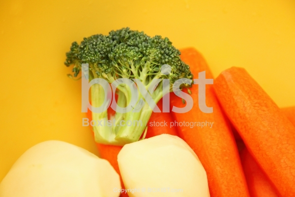 Broccoli With Carrot And Potatoes