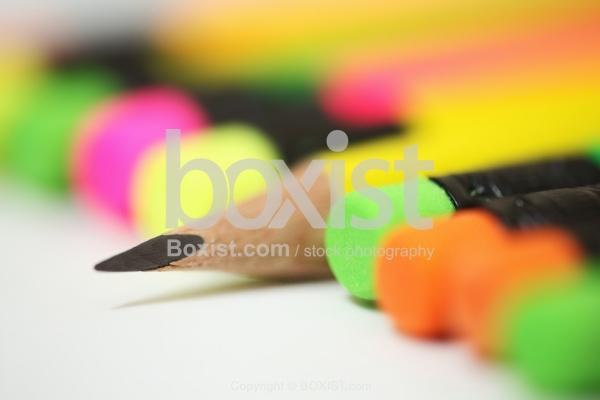 Closeup Of Sharp Pencil Head