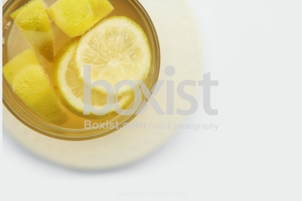 Hot Drink With Lemon