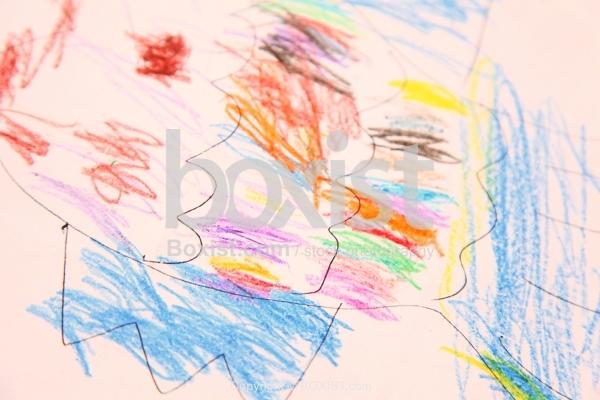 Kids Colored Drawings
