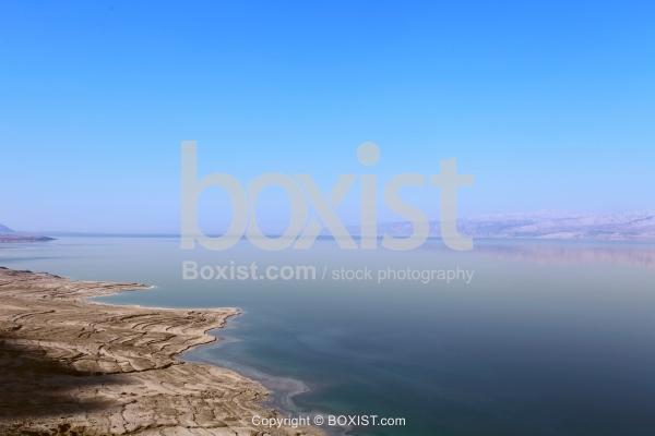 Landscape View Over The Shore Of The Dead Sea