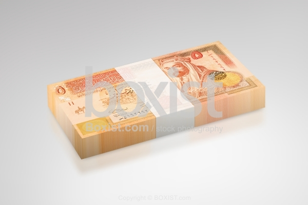 Money Stack Of Jordanian Dinar Bills