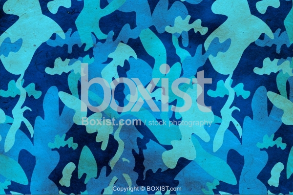 Police Blue Camouflage Background