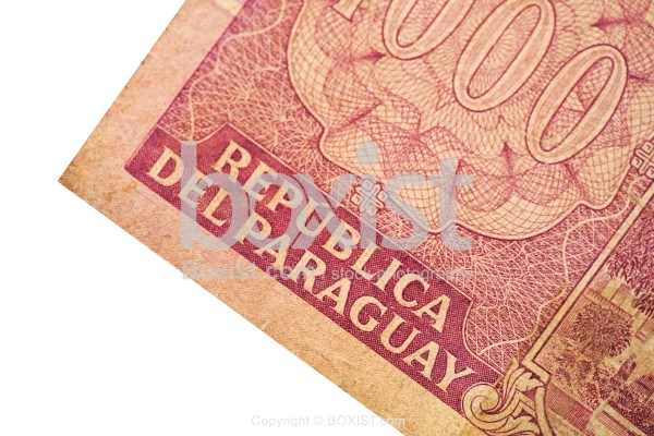 Republica Del Paraguay Money Note