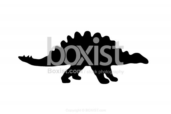 Stegosaurus Clipart Silhouette