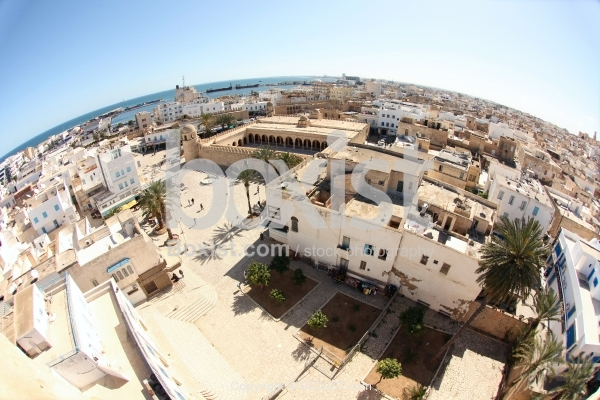Top View of The Medina Of Sousse