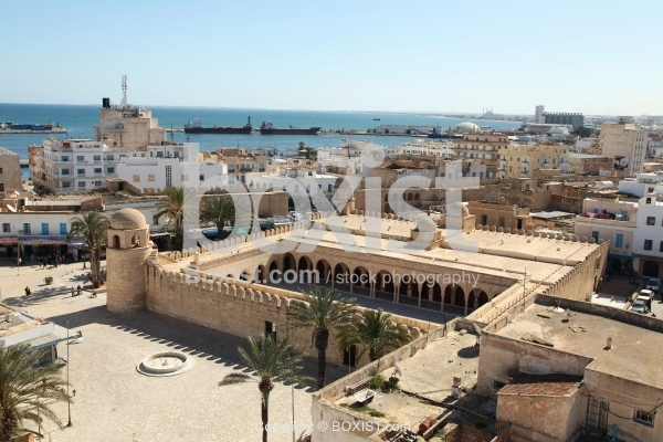 View Over The Great Old Mosque Of Sousse