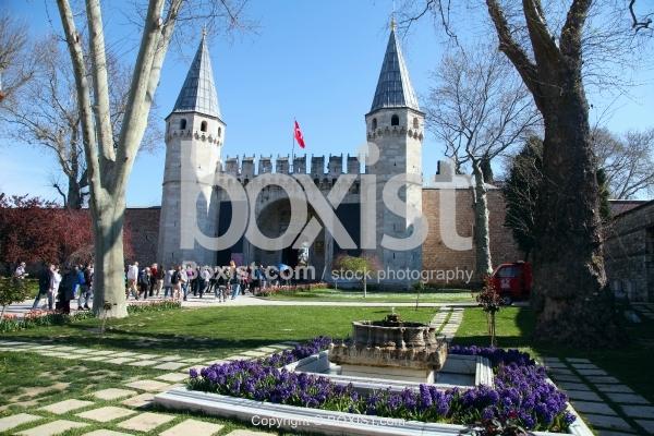 Main Gate of Topkapi Palace in Istanbul