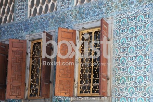Wooden Windows Inside Topkapi Palace