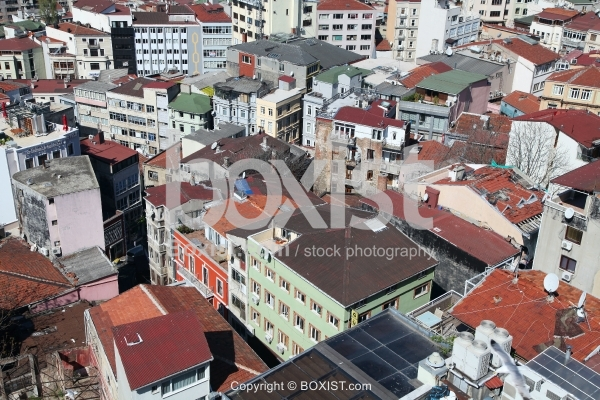 Houses With Roof Tiles