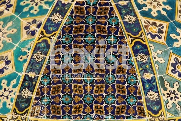 Ancient Arabesque Ceramic Tiles