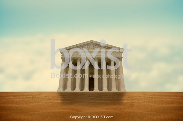 Supreme Court of the United States in the Desert