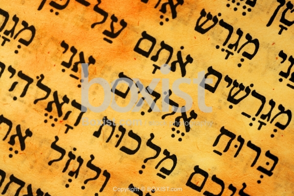 Biblical Text from the Jewish Torah