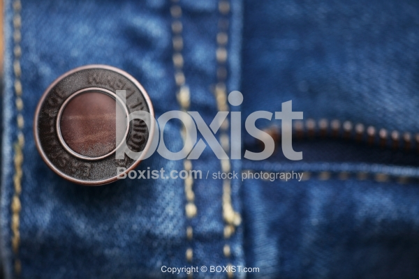 Rusty Jeans Brass Button