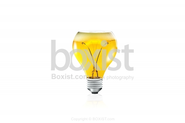 Bulb Glass Drink