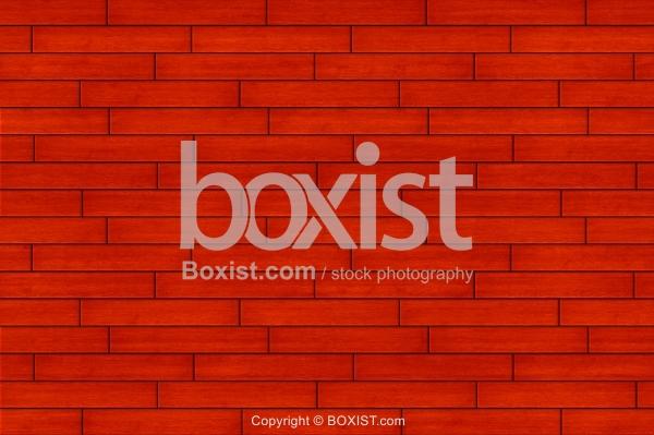 Red Wooden Floor Background