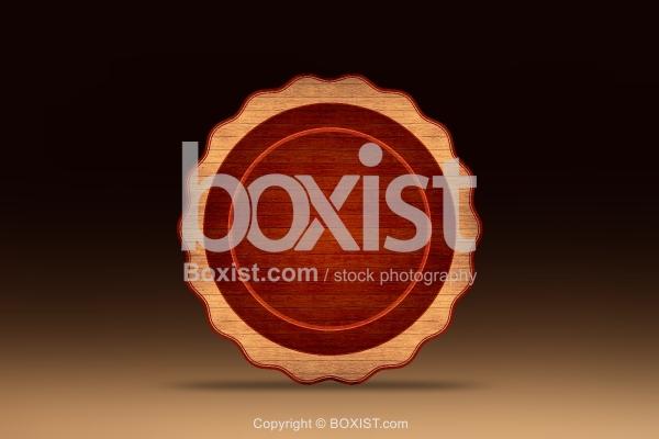 Grunge Wooden Plaque
