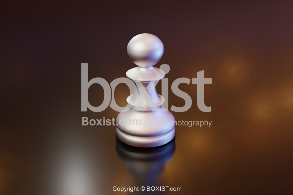 3D Pawn Piece Of Chess