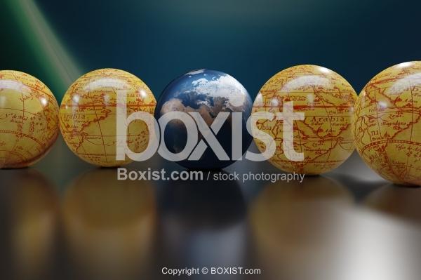 3D Globes Concept Design