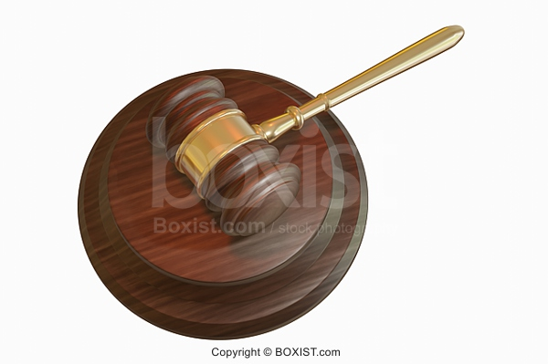 3D Judge Gavel