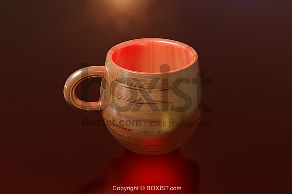 Decorative Ceramic Cup
