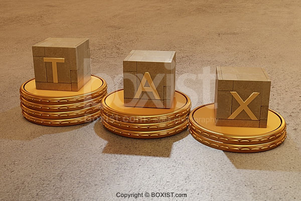 Coins With Tax Cubes