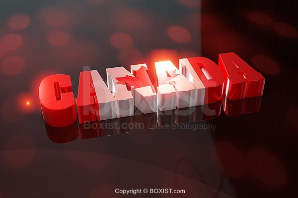 Canada In 3D Design
