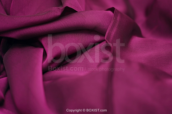 Crumpled Purple Silk Background