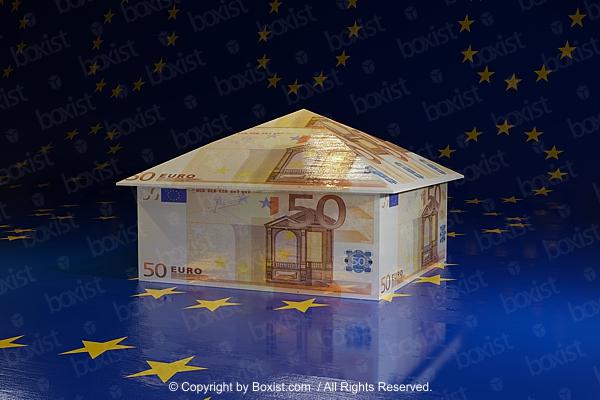 Euro Money House Money Concept Design