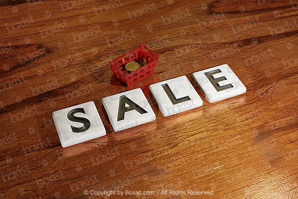 Sale Letters Blocks