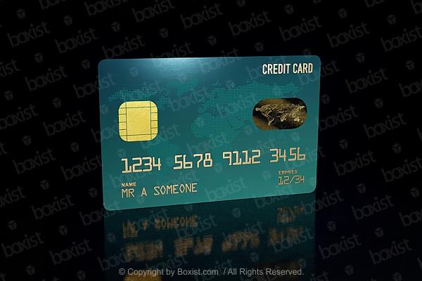Bank Credit Card Design