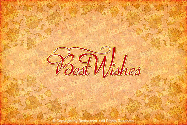 Best Wishes Elegant Greeting Card