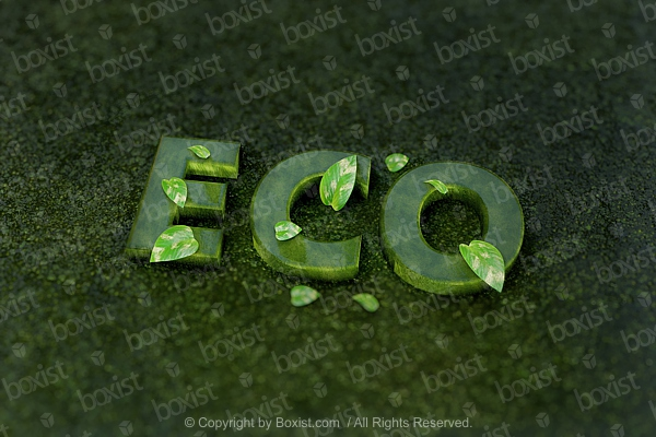 ECO Green Leaves