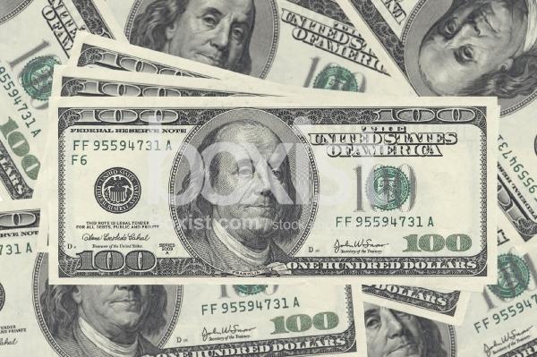 100 Dollars Bills