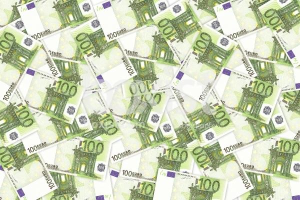100 Euros Money Background