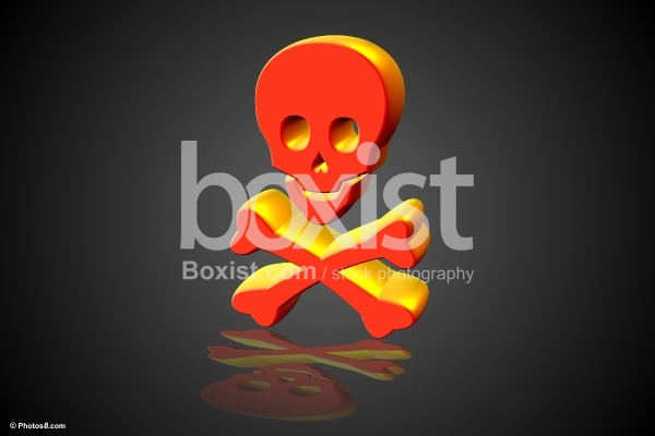 3D Skull and Bones