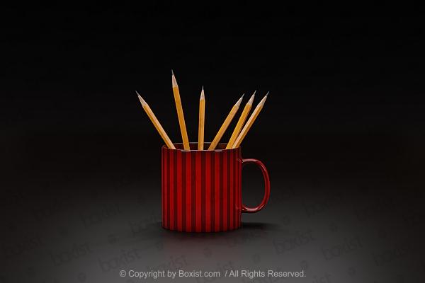 3D White Ball