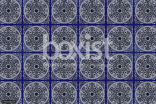 Ornamental Tiles Background
