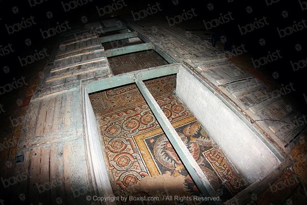 4th Century Mosaic Floor in Nativity Church