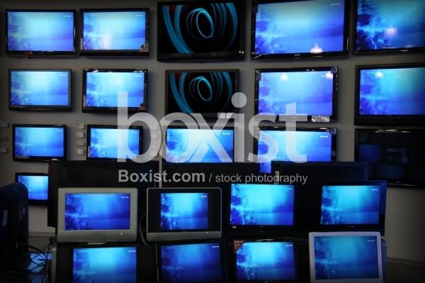 Blue TV Screens