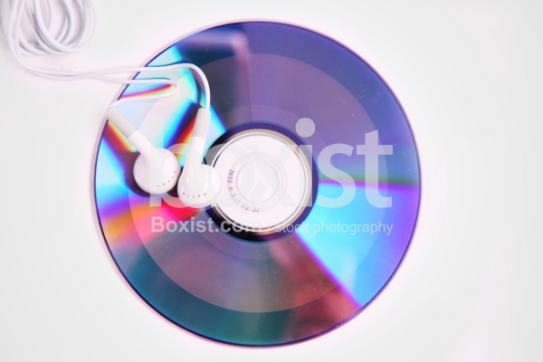 Music CD with Headphones